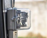 Ferramenta elétrica do medidor elétrico de hora de quilowatt imagens de stock royalty free