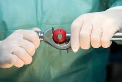 Ferramenta para a cirurgia Foto de Stock Royalty Free