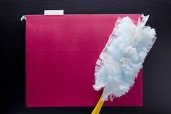 Ferramenta para limpar a poeira Fotografia de Stock Royalty Free