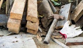 Ferramenta para o carpinteiro Imagens de Stock