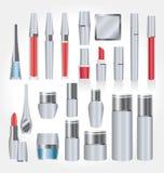 Ferramentas cosméticas Fotografia de Stock