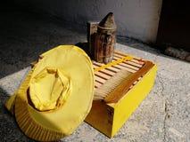 Ferramentas da abelha fotografia de stock royalty free