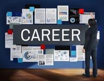 Ferramentas da carreira que recrutam o conceito da profissão imagem de stock royalty free