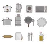 Ferramentas da cozinha ilustração royalty free