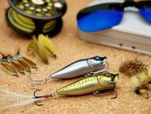 Ferramentas da pesca Foto de Stock