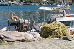 Ferramentas da pesca Fotografia de Stock