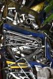 Ferramentas de conservação do carro fotografia de stock