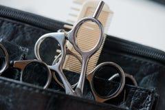 Ferramentas de corte do cabelo Imagem de Stock