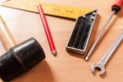 Ferramentas de DIY na loja Imagem de Stock Royalty Free