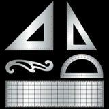 ferramentas de esboço do metal de +EPS Imagens de Stock Royalty Free