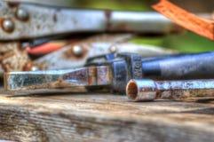 ferramentas de funcionamento Foto de Stock Royalty Free