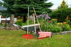 Ferramentas de jardim Foto de Stock Royalty Free