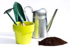 Ferramentas de jardinagem Imagens de Stock