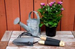 Ferramentas de jardinagem. Foto de Stock Royalty Free