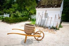 Ferramentas de jardinagem e de cultivo tradicionais Foto de Stock Royalty Free