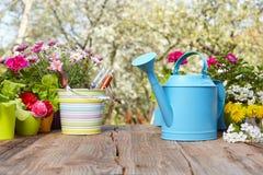 Ferramentas de jardinagem exteriores Imagens de Stock Royalty Free