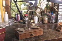 Ferramentas de Luthier Fotografia de Stock
