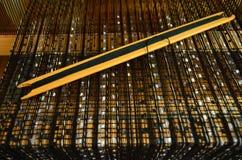 Ferramentas de madeira do tear Foto de Stock