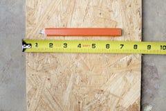 Ferramentas de medição Fotografia de Stock