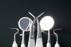 Ferramentas dentais Imagens de Stock
