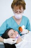 Ferramentas dentais profissionais Foto de Stock