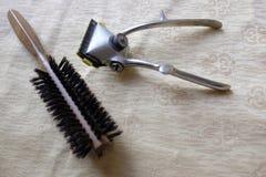 Ferramentas do barbeiro Imagens de Stock Royalty Free