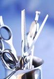 Ferramentas do cabeleireiro Fotografia de Stock Royalty Free