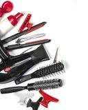 Ferramentas do cabeleireiro fotografia de stock