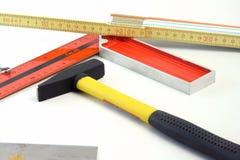 Ferramentas do carpinteiro Foto de Stock Royalty Free