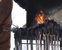Ferramentas do ferreiro Fotos de Stock