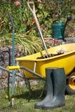 Ferramentas e acessórios de jardinagem Imagem de Stock Royalty Free
