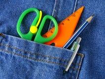 Ferramentas no bolso Imagens de Stock