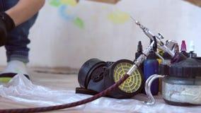 Ferramentas para airbrushing e pintura filme