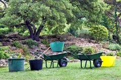 Ferramentas para ajardinar jardins Imagem de Stock Royalty Free