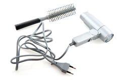 Ferramentas para o aparelhador do cabelo fotografia de stock