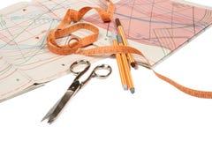 Ferramentas para sewing 1 Imagem de Stock Royalty Free