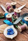 Ferramentas Sewing Imagem de Stock Royalty Free