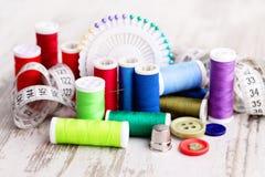 Ferramentas Sewing Imagens de Stock