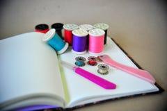 Ferramentas Sewing Foto de Stock Royalty Free