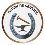 Ferramentas 2 similares dos Farriers ilustração royalty free
