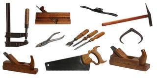 Ferramentas sortidos para o carpinteiro Foto de Stock