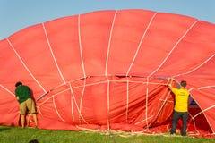 Ferrara Ballonsfestival 2014, Italië Royalty-vrije Stock Afbeeldingen