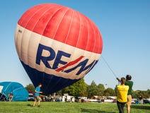Ferrara Ballonsfestival 2014, Italië Royalty-vrije Stock Foto