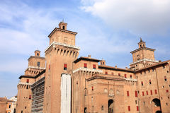 Ferrara castle Stock Photo