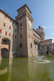 Ferrara - The castle Royalty Free Stock Photos