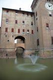 Ferrara castle stock photography
