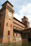 Ferrara castle Royalty Free Stock Photo