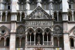 The ferrara cathedral Stock Photo