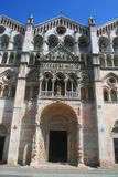 Ferrara Cathedral - Ferrara Italy Stock Photography