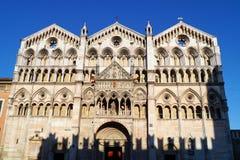 Ferrara Cathedral Stock Image